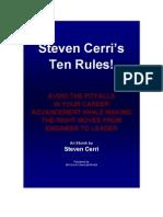 Steve Cerri E-book - 10 Rules