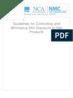 Minimizing Skin Exposure 2007