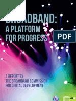 Broadband Commission Report 2010