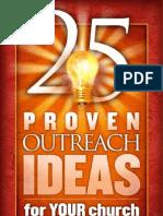 25 Outreach Ideas