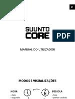 Manual Relógio Suunto Core Português