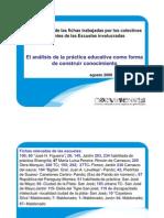 Devolucion de Fichas-el Analisis de La Practica Const Conoc
