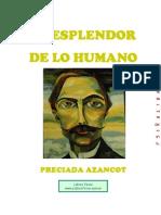 Azancot, Preciada - El Esplendor de Lo Humano