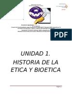 UNIDAD I.historia de La Etica y Bioetica