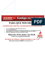 CACEROLADA 29