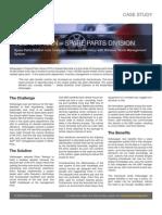 Case Studies VW Parts NA