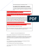 Legislação e Decreto sobre Armas de pressão