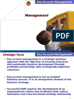 Key Accounts Management Cener