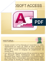 Versiones de Microsoft Office Access