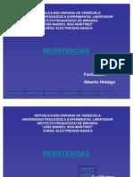 Tutorial Informativo 1 de Resistencias