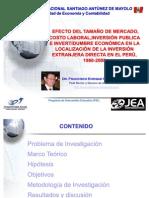 UNASAM Investig Etmclipie IED PIE EHB