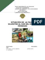 Fauna Silvestre Al Sur Del Edo Monagas