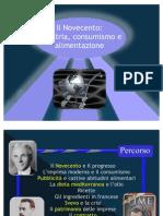 Tesina sull'industria dei primi del 900, il consumismo e Italo Svevo