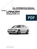 21248071 Mitsubishi Evo Vii Technical Manual