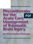 Acute Care for TBI