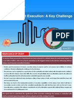 Timely Project Execution - A Key Challenge