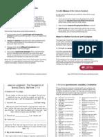 LwcF PDF Sermon Handout Uses Abuse Ideas Samples