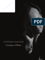 Stephen Hough Catalogue of Works
