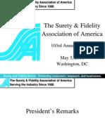SFAA _President's Report 2010-20111-Schubert