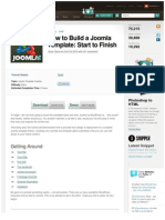 How to Build a Joomla Template Start to Finish