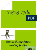 a Buying Cycle and Retail Merchandising