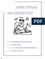 Folio Additional Mathematics