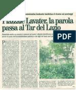 Piazzale Lavater, la parola passa al Tar del Lazio - 20110623_CinqueGiorni