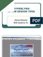 Hyperlynx a PWB Design Tool