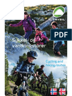 Sykkel- og vandringsguide 2011. Cycling and hiking routes 2011