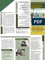 AFAD Brochure 2011