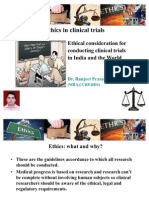 Ethics in Clinical Trial