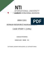 HRM Case Study 1