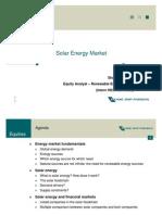 Solar Energy Market - Shakti Pandey