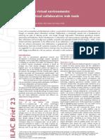 ILAC Brief23 Virtual Environments