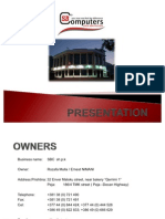 SBC - Presentation