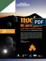 Noche de San Juan. Teleastronomía
