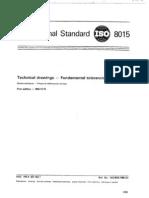 ISO 8015-85 (Engelsk Ver.)