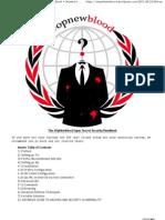 The OpNewblood Super Secret Security Handbook « Serpent embrace's Blog