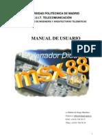 Manual Msx88 v3.0
