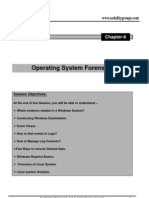 Ch6 - Operating System Forensics