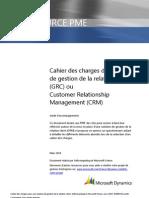Modele Cahier Des Charges CRM