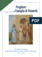 Preghiere alla Santa Famiglia - Stampa 12,1 2,11 - 10,3 4,9 - 8,5 6,7