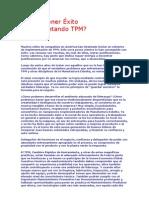 Cómo Tener Éxito implemen TPM