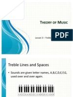Gr1 Lesson 3 Treble Lines and Spaces