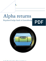 Lu_alpha Regulated Hedge Funds Returns_04062009