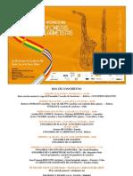 invitaciones conciertos y talleres