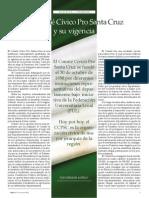 El comité cívico Pro Santa Cruz y su vigencia -Germán Antelo-