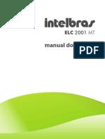 Manual Do Usuario ELC 2001 MT Central de Cerca Eletrica Com Modulo Interno