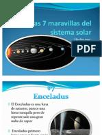 Las 7 Mar a Villas Del Sistema Solar