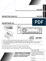 JVC CD Receiver Instructions 2432